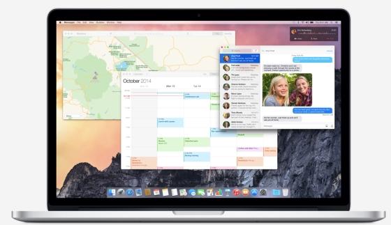 MAC OSX YOSEMITE